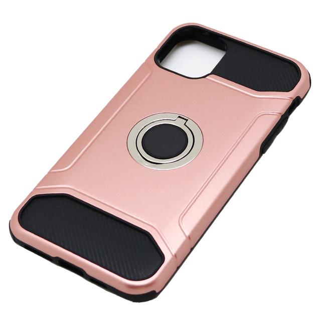 iPhone 11 Pro Max用 6.5インチ ジャケット リング付き 耐衝撃